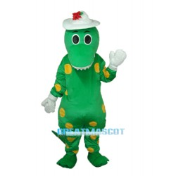 Dorothy Dinosaur Mascot Adult Costume Free Shipping