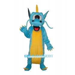 Serrated Teeth Dragon Mascot Adult Costume Free Shipping