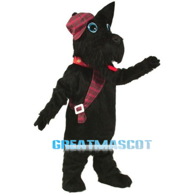 Scotty Dog Mascot Costume Free Shipping