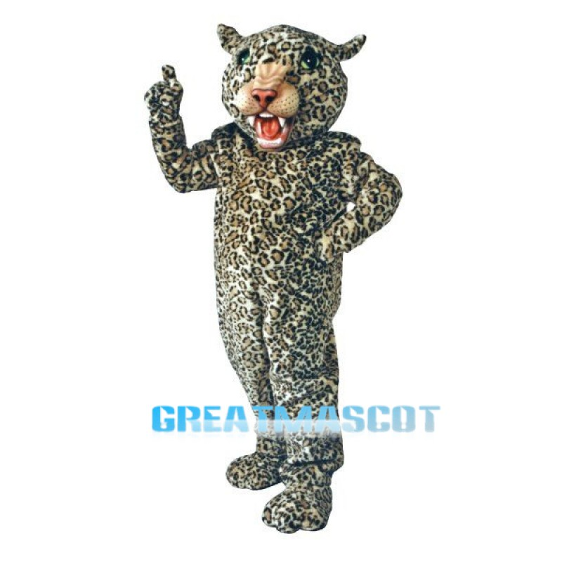 Big Cat Leopard Mascot Costume Free Shipping