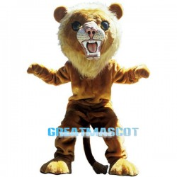 Big Cat Lion Mascot Costume Free Shipping