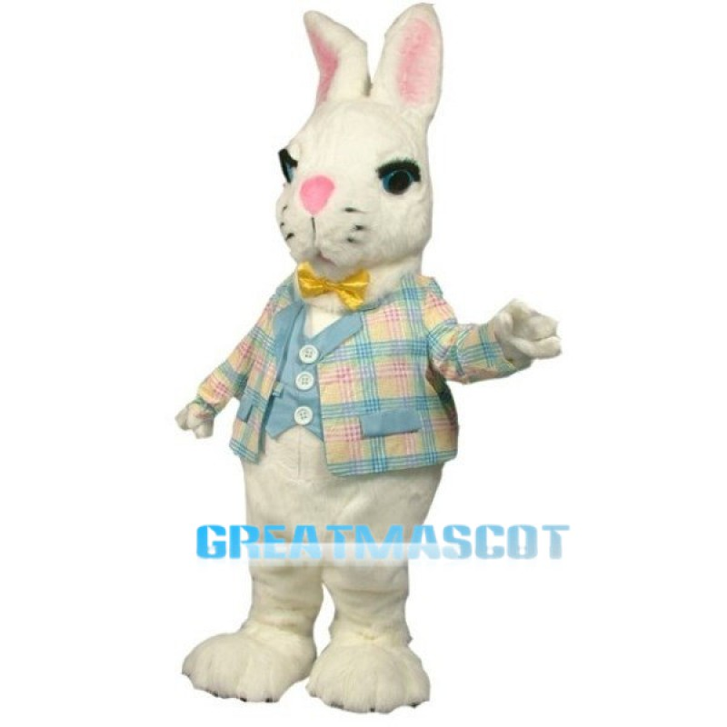 Buttermilk Bunny Mascot Costume Free Shipping