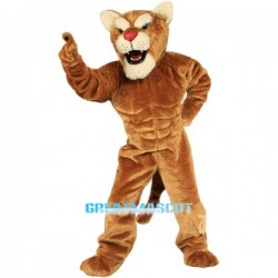 Cougar Power Cat Mascot Costume