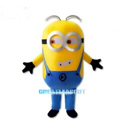 New Style Cartoon Despicable Me Minion Mascot Costume