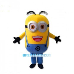 High Quality Eye Despicable Me Minion Mascot Costume