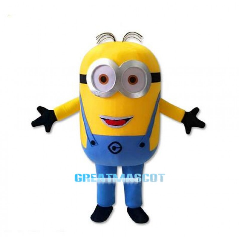 High Quality Funny Despicable Me Minion Mascot Costume