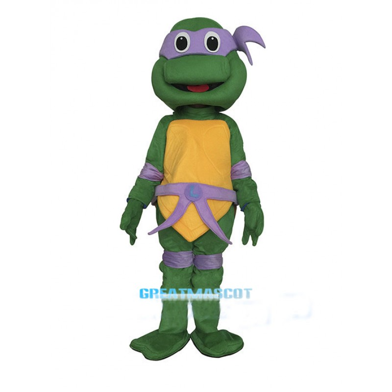 Teenage Mutant Ninja Turtle  Mascot Costume Purple Donatello