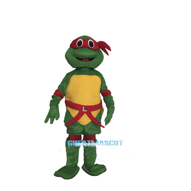 Teenage Mutant Ninja Turtle Mascot Costumes Raphael Carnival