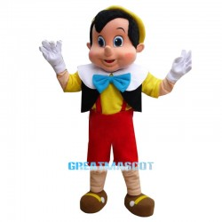 High Quality Pinocchio Mascot Costume