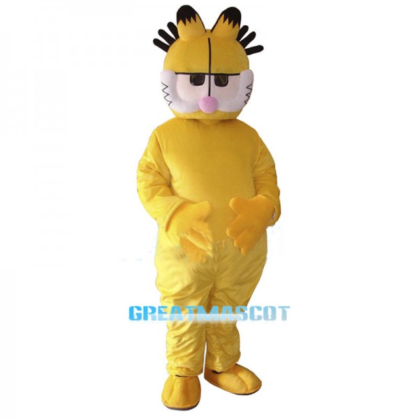 Garfield Cartoon Mascot Costume
