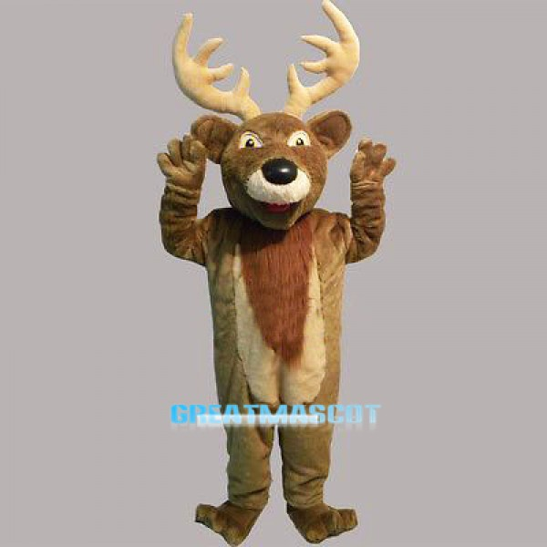 New Deer Adult Mascot Costume Free Shipping