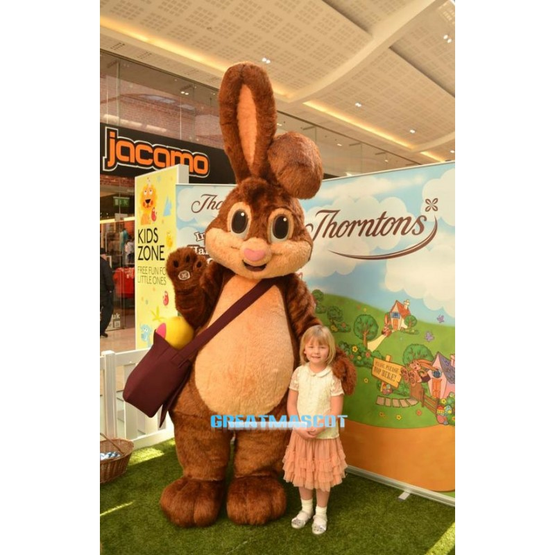 High Quality Bunny Rabbit Mascot Costume US IN STOCK