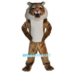 Super Wildcat Mascot Costume Free Shipping