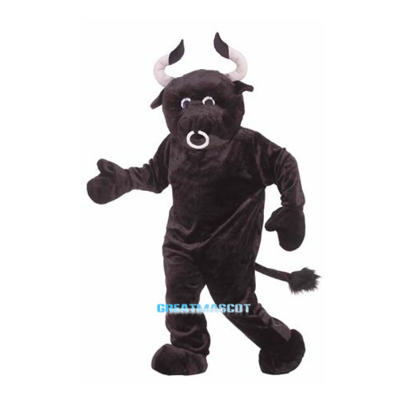 Adult DeluxePlush Bull Mascot Costume