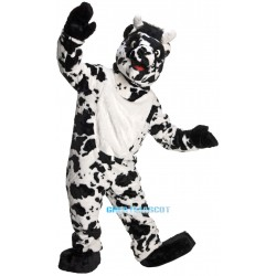 Adult Super Deluxe Mascot Cow Costume