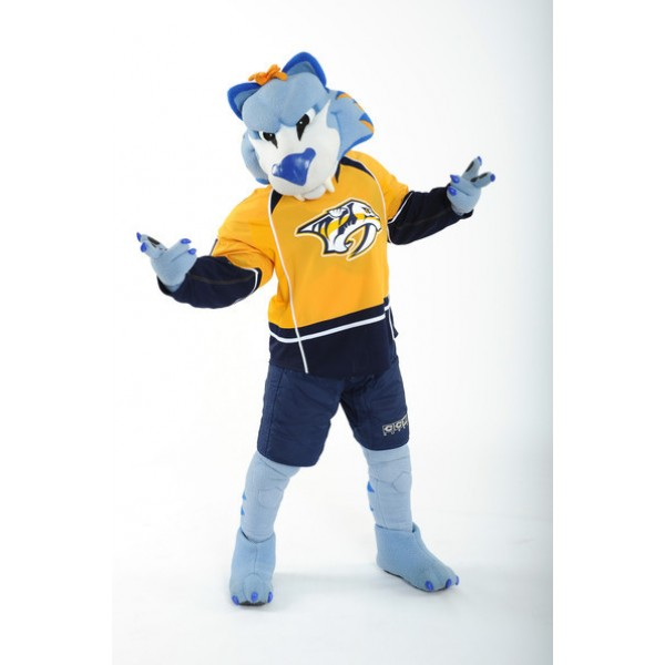 Professional Nashville Predators Team Mascot Costumes Free Shipping