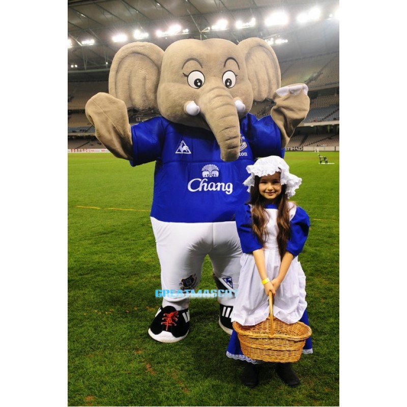The Elephant Mascot Costumes Free Shipping
