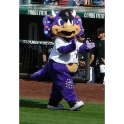 Professional Colorado Rockies Mascot Costumes Free Shipping