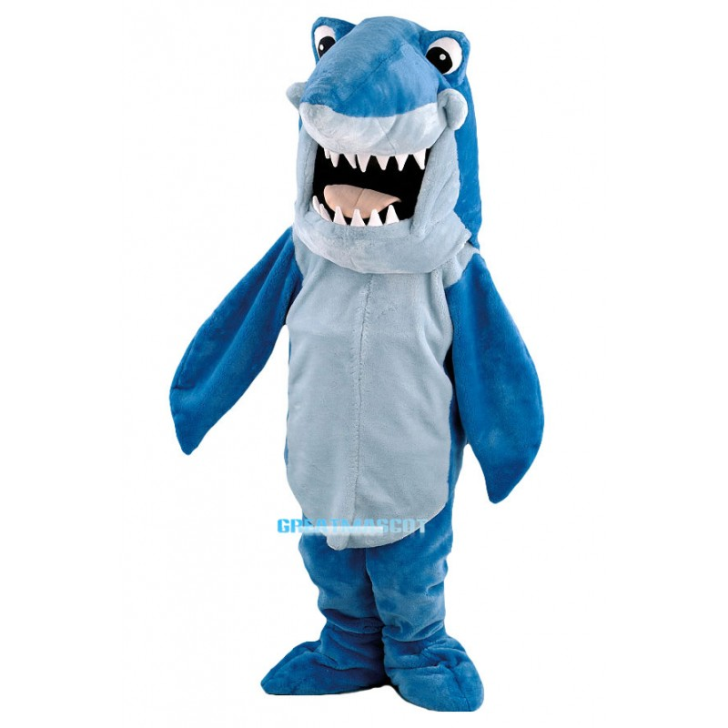 Cartoon Shark Mascot Costume Free Shipping