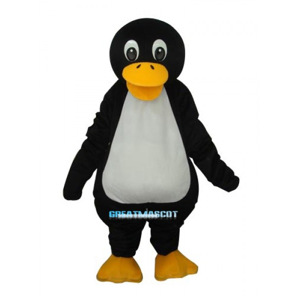 Fat Penguin Mascot Adult Costume Free Shipping