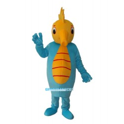 Old Hippocampus Mascot Adult Costume Free Shipping