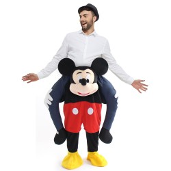Ride On Me Minnie Mascot Carry Costume for Halloween