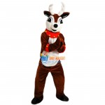 Reindeerw Bell Collar Cuffs Mascot Costume Adult Costume