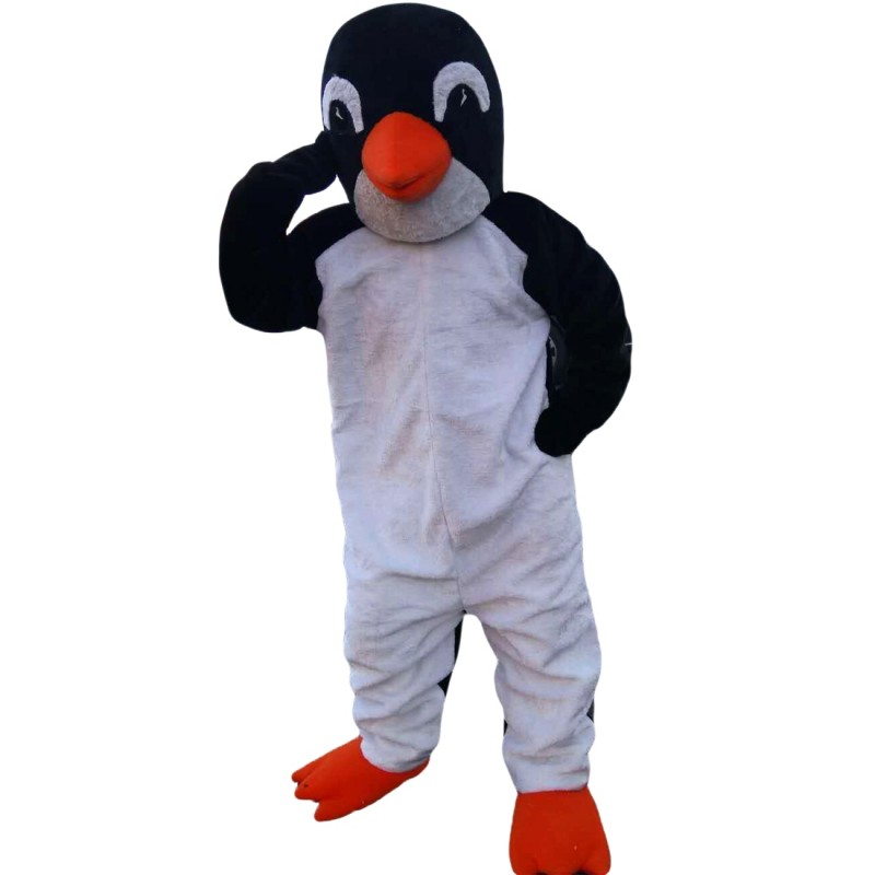 Plush Penguin Mascot Costume
