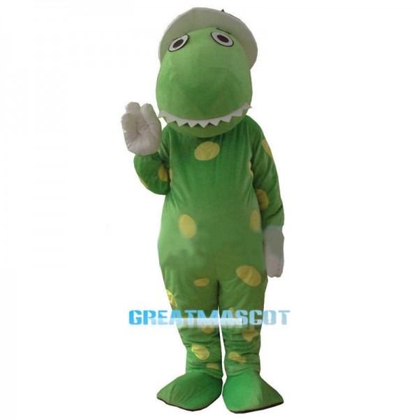 New Wiggles Dorothy The Dinosaur Adult Mascot Costume