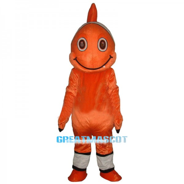 Nemo Clownfish Mascot Costume Buffoon fish Cartoon Fancy Dress