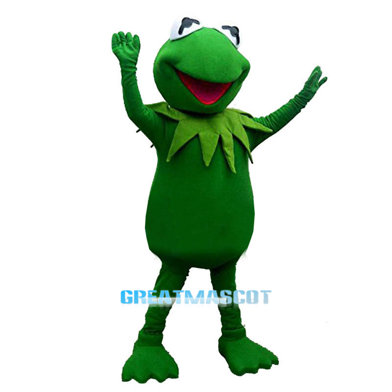 The Frog Prince Mascot Costume Fancy Dress