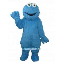 Super Cute Cookie Monster Sesame Street Mascot Costume