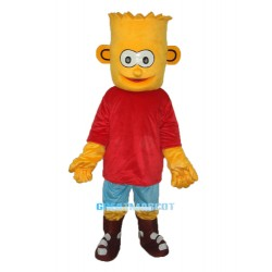 Bart Simpson Son Mascot Adult Costume