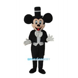 Evening Dress Mickey Mascot Adult Costume