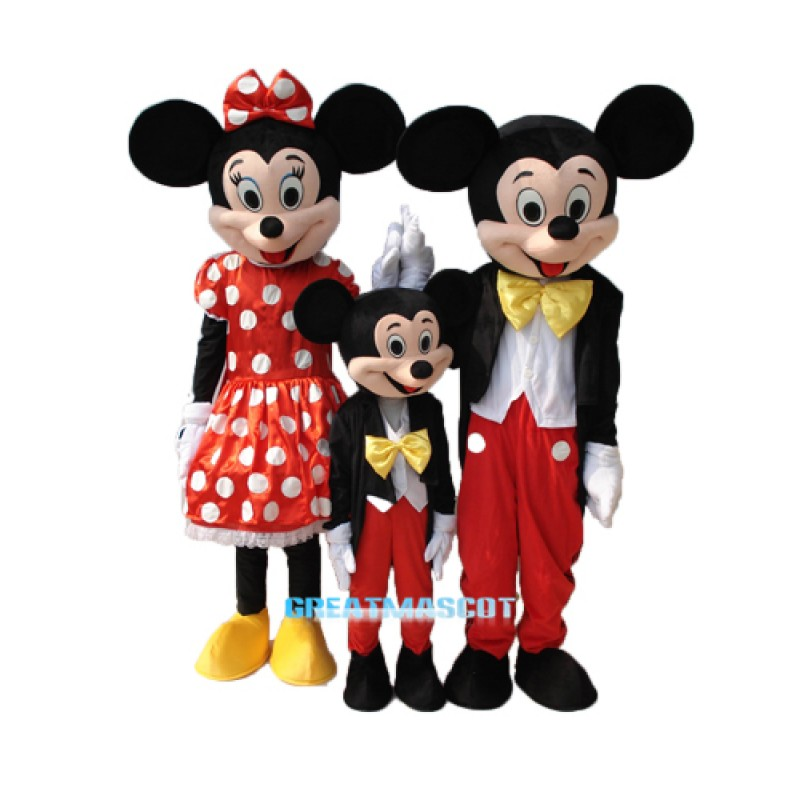 Mickey Mouse Family Edition Mascot Costume