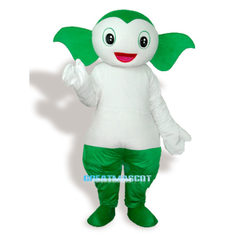 Apple Girl Adult Mascot Costume