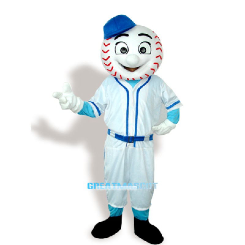 Baseball Man Adult Mascot Costume