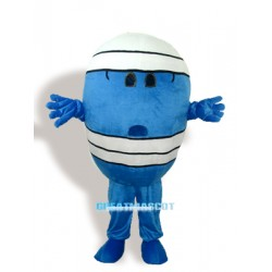 Wrestling Man Adult Mascot Costume