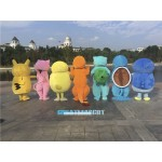 Pokemon Pok Mascot Adult Costume Free Shipping