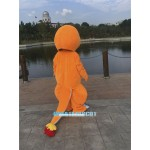 Charmander Mascot Adult Costume Pokemon Pok Free Shipping