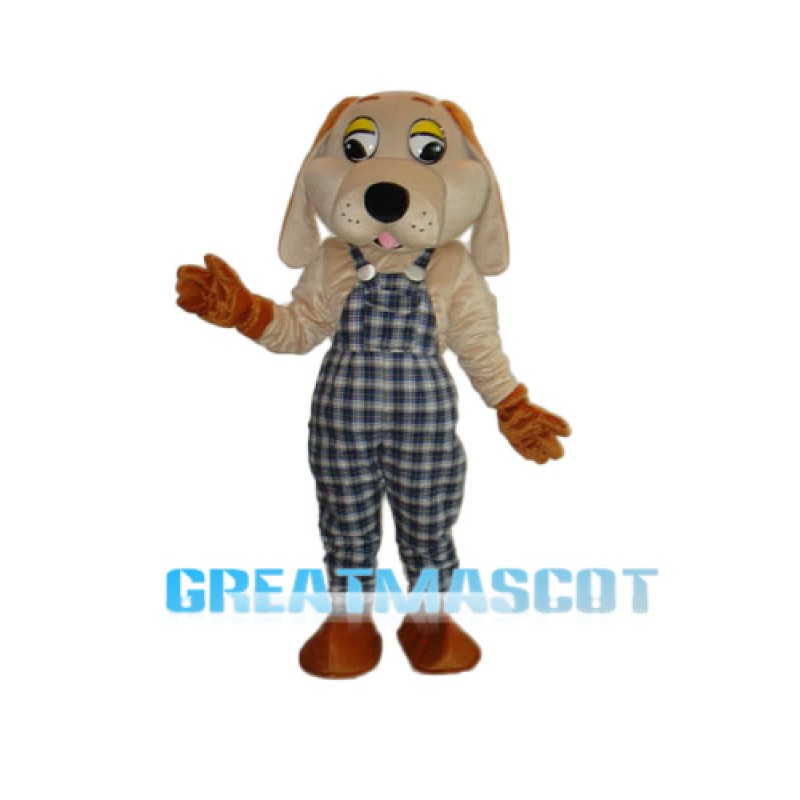 2nd Version Lucky Dog Mascot Adult Costume Free Shipping