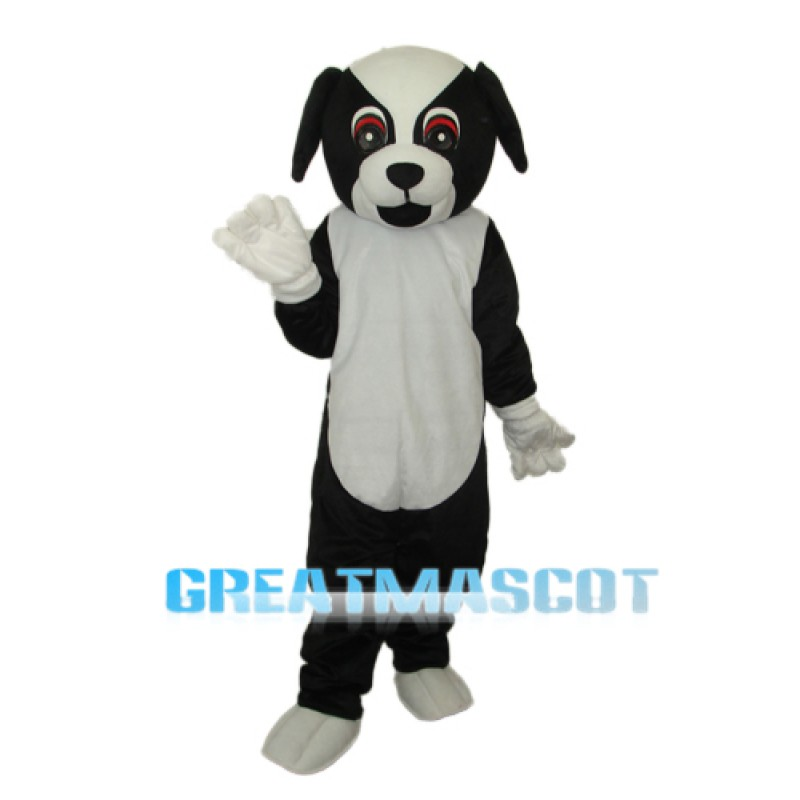 Black Dog Mascot Adult Costume Free Shipping