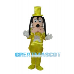 New Dress Goofy Mascot Adult Costume Free Shipping