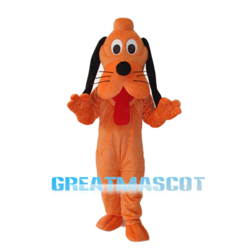 New Version Pluto Dog Mascot Adult Costume Free Shipping