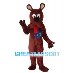 Old Version Scooby-Doo Mascot Adult Costume Free Shipping