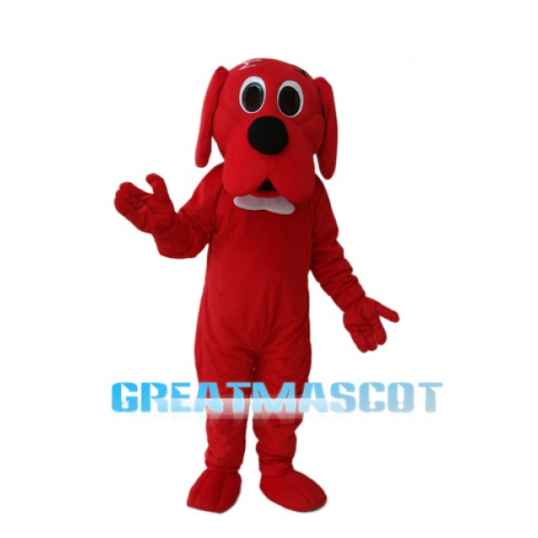 Red Potter Dog Mascot Adult Costume Free Shipping