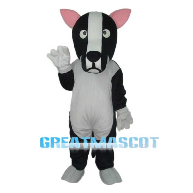 Revised Dog Mascot Adult Costume Free Shipping