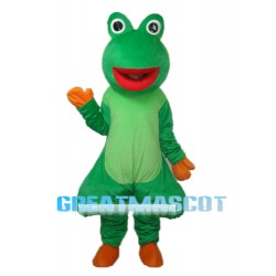 Red Mouth Odd Frog Mascot Adult Costume Free Shipping