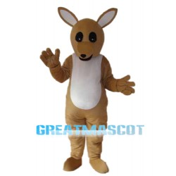 Golden Kangaroo Mascot Adult Costume Free Shipping