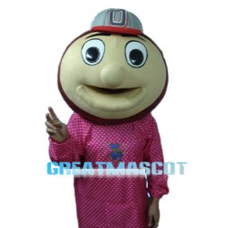Baseball Monkey Head Mascot Adult Costume Free Shipping